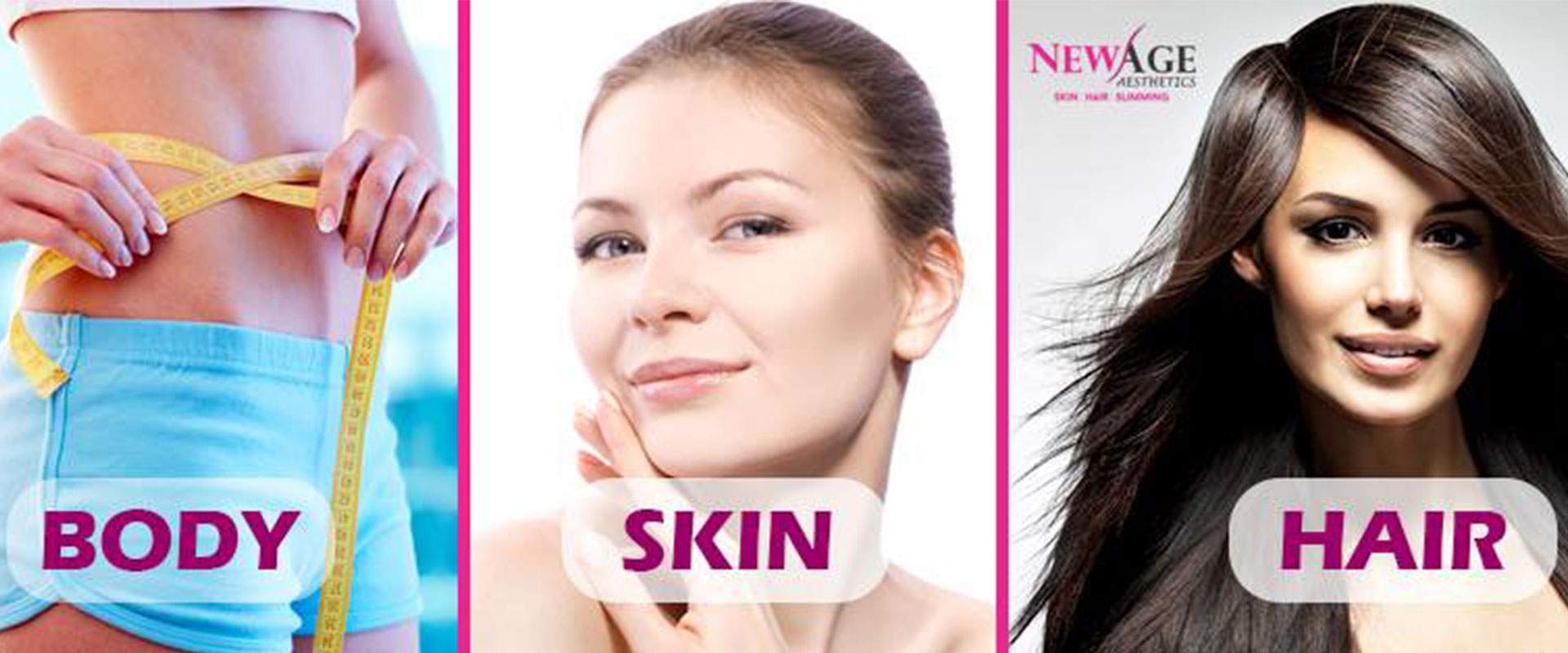 Skin hair slimming clinic