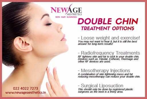 Double chin treatments skin hair clinic andheri