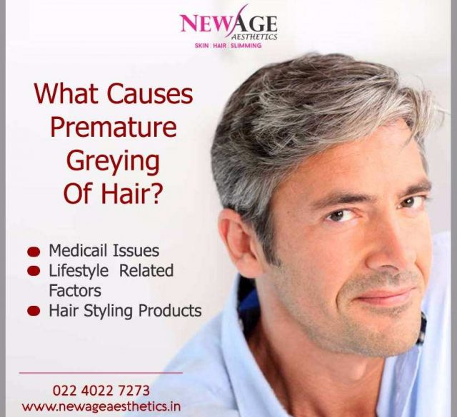 Greying hair newage aesthetics andheri