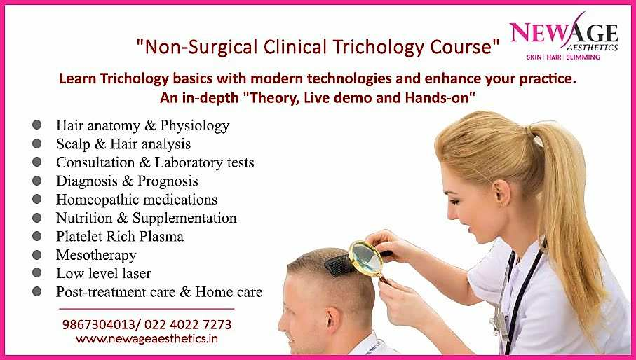 course in non surgical trichology