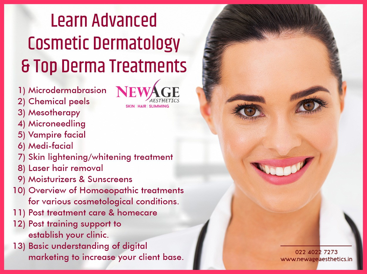 Advanced Clinical cosmetology courses